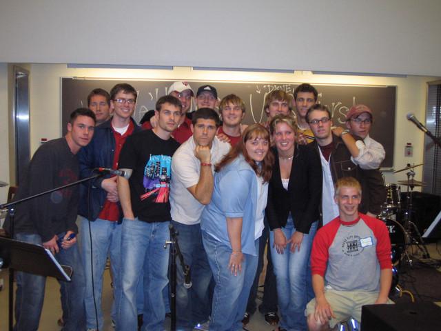 2004 Seniors Last College Life Meeting