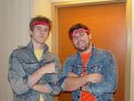 Rockin it 80's style