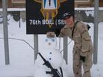 The Afghan Snowman