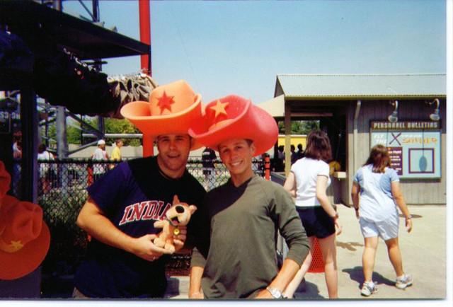 Brett and Nate Graeser at King's Island