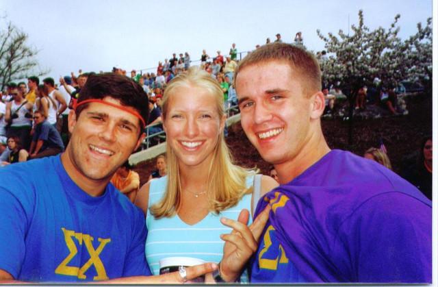 Brett, Barbie Minner, and Ryan at Little 5