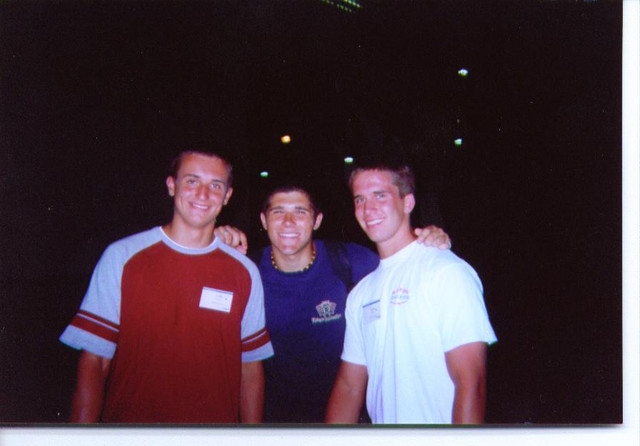 Colin Stark, Brett, and Ryan in Myrtle Beach